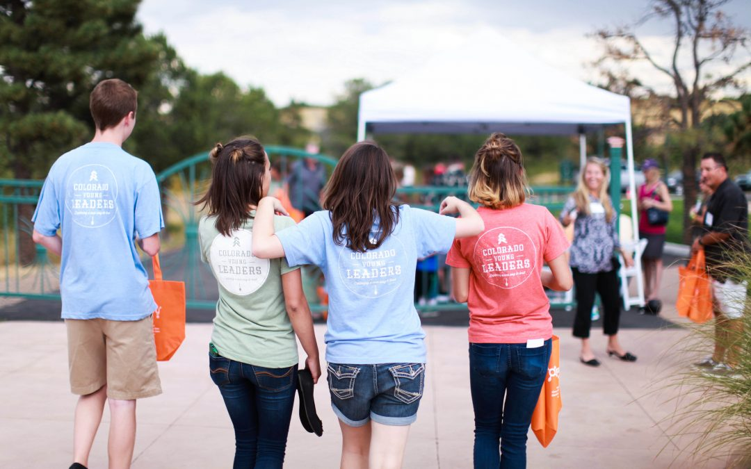 Global Youth Service Day and Colorado Young Leaders – Youth Mental Well Being through PLAY